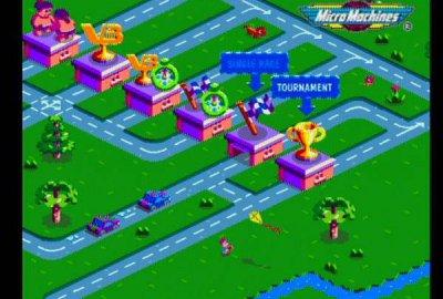 Micro Machines V3 для Sony PlayStation 1