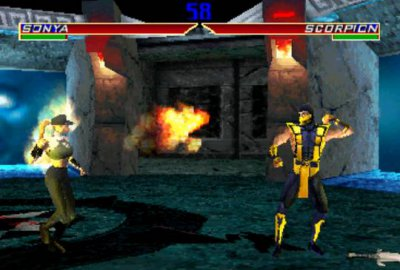 Mortal Kombat 4 для Sony PlayStation 1