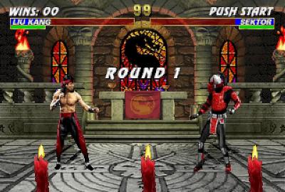 Mortal Kombat Trilogy (Classics) (PS1) скриншот-1