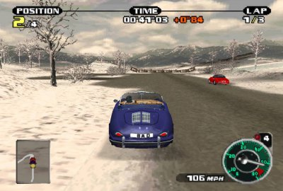 Need for Speed: Porsche 2000 (PS1) скриншот-1