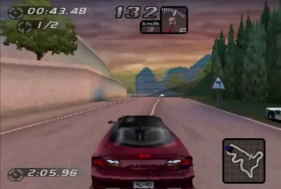 Need for Speed: Road Challenge (PS1) скриншот-1