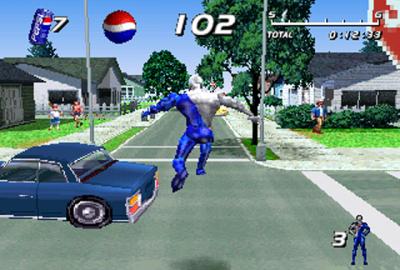 Pepsiman (PS1) скриншот-1