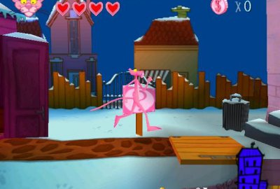 Pink Panther: Pinkadelic Pursuit для Sony PlayStation 1