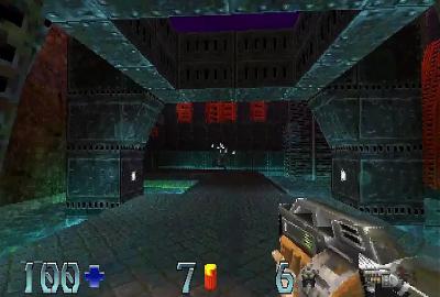 Quake II (PS1) скриншот-1