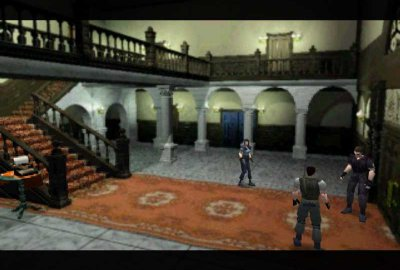 Resident Evil (PS1) скриншот-1