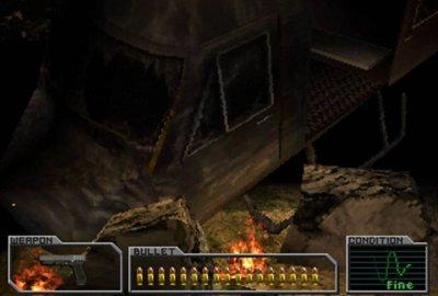 Resident Evil: Survivor (PS1) скриншот-1