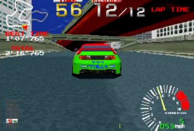 Ridge Racer (PS1) скриншот-1