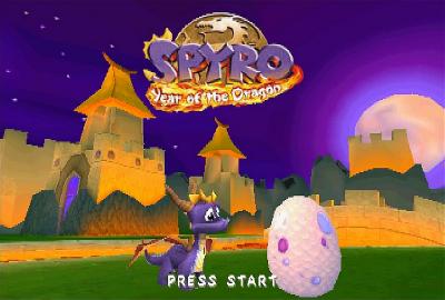 Spyro: Year of the Dragon (PS1) скриншот-1