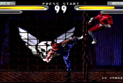 Street Fighter: The Movie (PS1) скриншот-1
