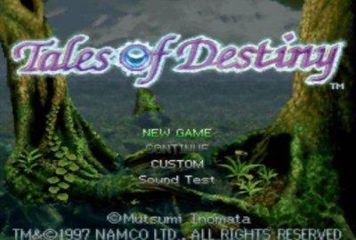 Tales of Destiny (PS1) скриншот-1