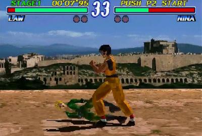 Tekken 2 (PS1) скриншот-1