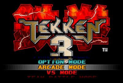 Tekken 3 (PS1) скриншот-1