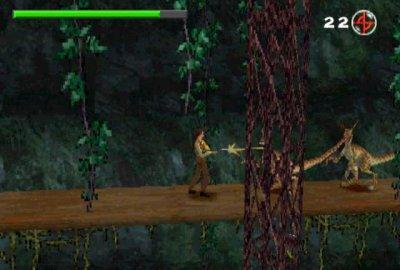 The Lost World: Jurassic Park (PS1) скриншот-1