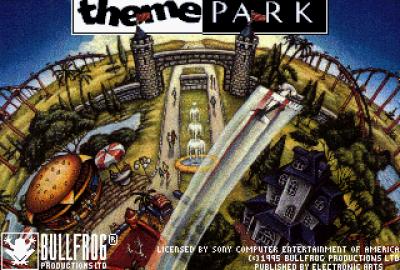 Theme Park (PS1) скриншот-1