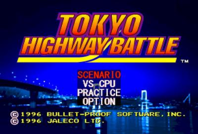 Tokyo Highway Battle (PS1) скриншот-1