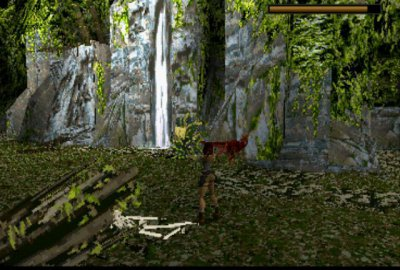 Tomb Raider (PS1) скриншот-1