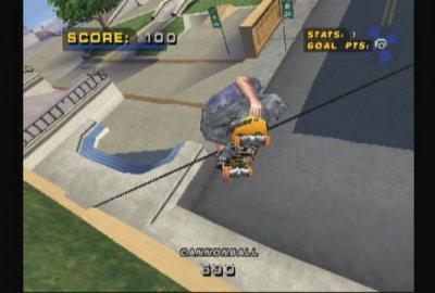 Tony Hawk's Pro Skater 4 (PS1) скриншот-1