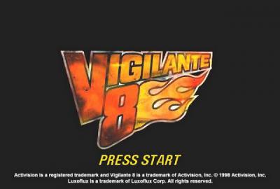 Vigilante 8 (PS1) скриншот-1
