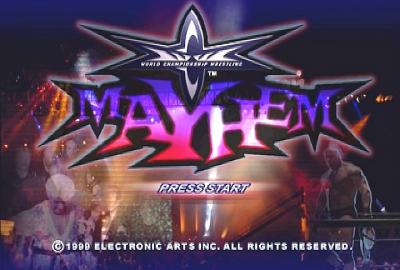 WCW Mayhem (PS1) скриншот-1