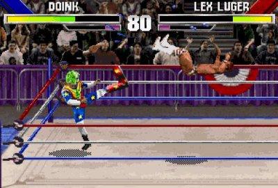 WWF WrestleMania: The Arcade Game (PS1) скриншот-1