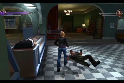 Buffy the Vampire Slayer: Chaos Bleeds (PS2) скриншот-1