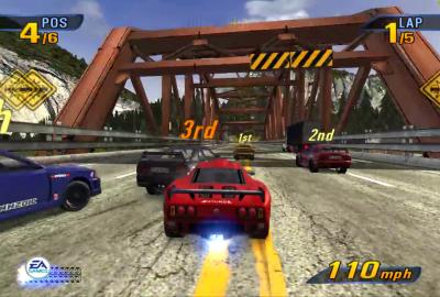 Burnout 3: Takedown (PS2) скриншот-1