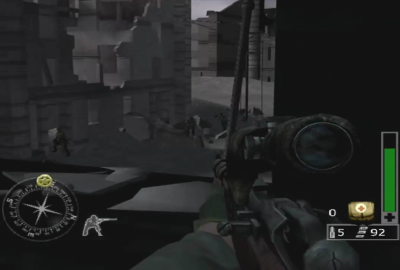 Call of Duty: Finest Hour (PS2) скриншот-1