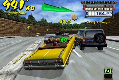 Crazy Taxi для Sony PlayStation 2