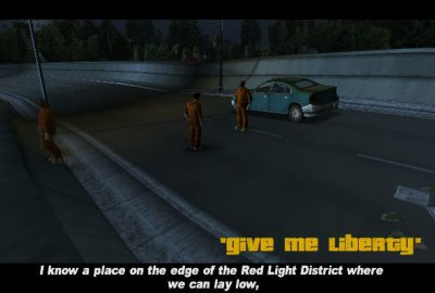 Grand Theft Auto III (PS2) скриншот-1