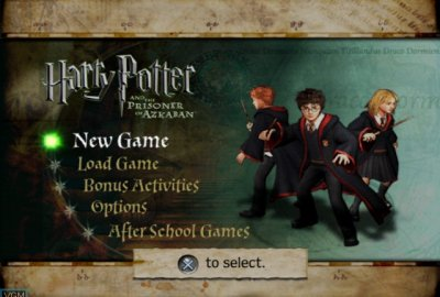 Harry Potter and the Prisoner of Azkaban (PS2) скриншот-1