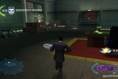 Men in Black II: Alien Escape (PS2) скриншот-1