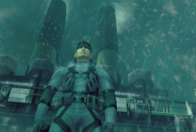 Metal Gear Solid 2: Sons of Liberty (PS2) скриншот-1