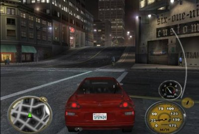 Midnight Club 3: DUB Edition (PS2) скриншот-1