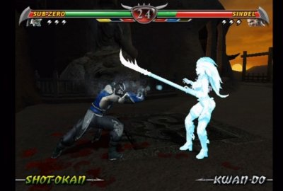 Mortal Kombat: Deception (PS2) скриншот-1