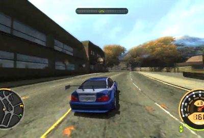 Need for Speed Most Wanted (PS2) скриншот-1