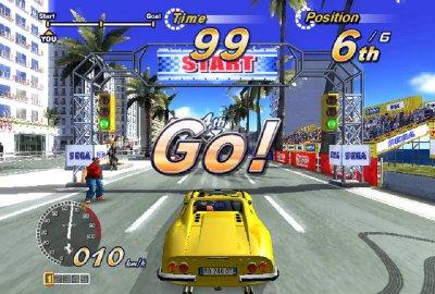 OutRun 2006: Coast 2 Coast для Sony PlayStation 2