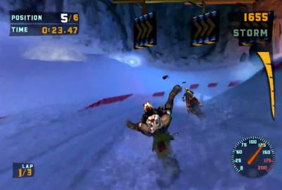 Sled Storm для Sony PlayStation 2