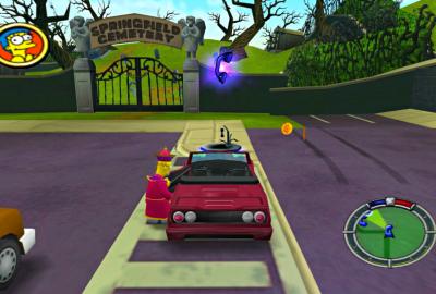 The Simpsons: Hit & Run (PS2) скриншот-1
