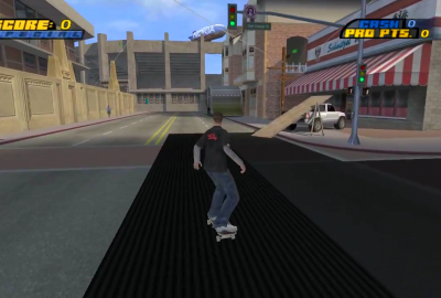 Tony Hawk's Pro Skater 4 (PS2) скриншот-1