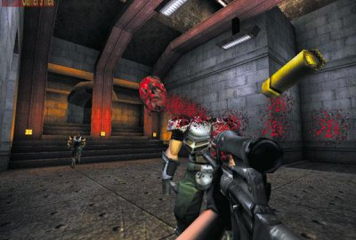 Unreal Tournament (PS2) скриншот-1