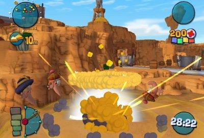 Worms 4: Mayhem (PS2) скриншот-1