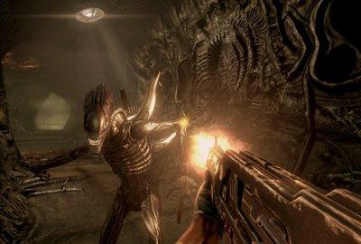 Aliens vs. Predator (Hunter Edition) (PS3) скриншот-1