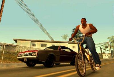 Grand Theft Auto: San Andreas (PS3) скриншот-1