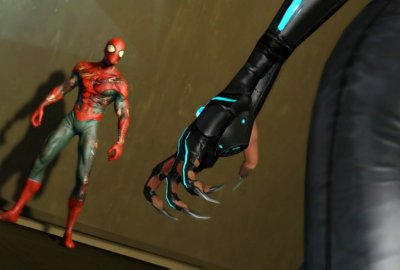 Spider-Man: Edge of Time (PS3) скриншот-1