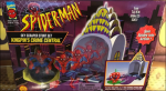 Sky Scraper Stunt Set - Crime Central Web-Spinner Spidey | Toy Biz 1994 image