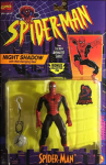 Spider-Man Night Shadow with Web Swinging Gear | Toy Biz 1994 image