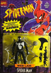 Spider-Man - Web Lair (Deluxe Edition - Kay Bee) / Spider-Man: The Animated Series - Toy Biz 1994