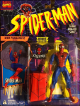 Spider-Man Web Parachute Action / Spider-Man: The Animated Series - Toy Biz 1994 picture