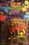 "Chief Engineer Michaelangelo - The Bodacious ""Beam Me Up"" Buddy! | Teenage Mutant Ninja Turtles (Star Trek) - Playmates Toys 1994 image"