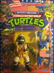 Lieutenant Leo - The Desert Duelin' Dude! | Teenage Mutant Ninja Turtles (Mutant Military) - Playmates Toys 1991 image